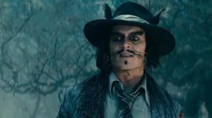Johnny Depp as the Wolf