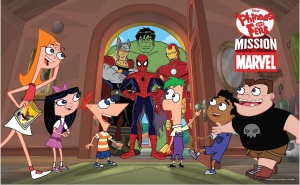The Phineas and Ferb/Marvel crossover event titled Mission: Marvel