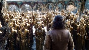 Army of wood elves prepare for battle