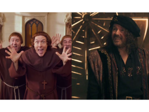 Weird Al Yankovic and Ricky Gervais in Galavant